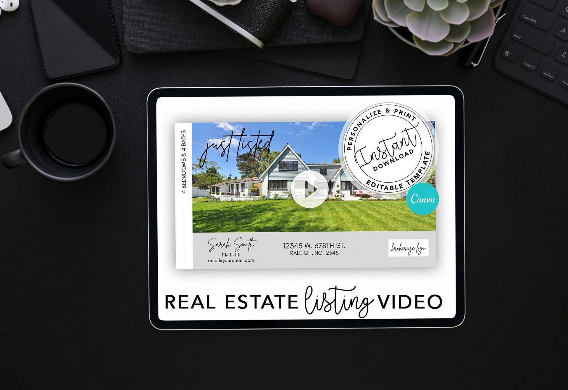 000 Stunning Real Estate Marketing Video Template High Definition  Templates1920