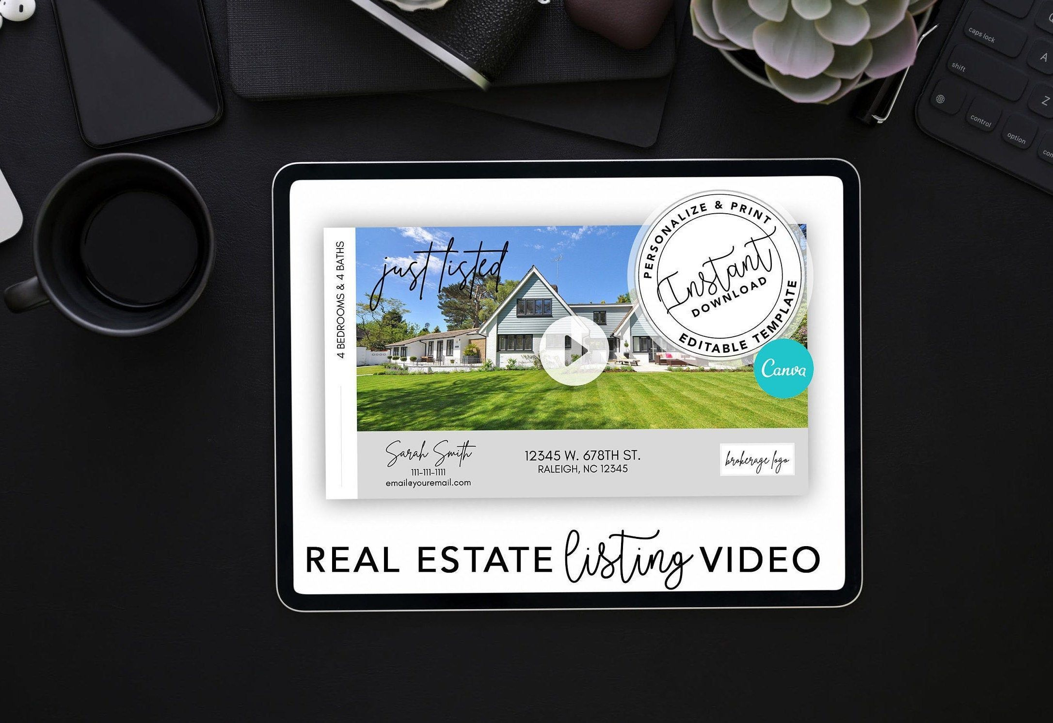 000 Stunning Real Estate Marketing Video Template High Definition  TemplatesFull
