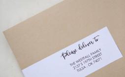 000 Stunning Wedding Addres Label Template Design  Free Printable