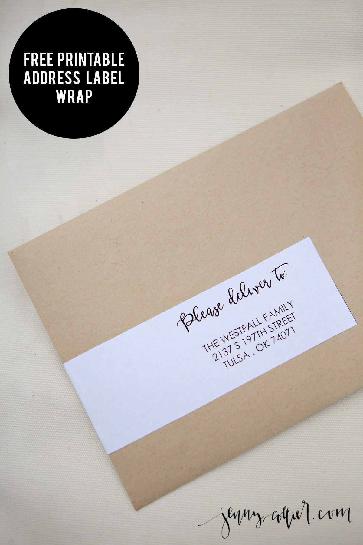 000 Stunning Wedding Addres Label Template Design  Free PrintableFull