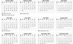 000 Stupendou Excel Calendar 2021 Template High Definition  Yearly Microsoft
