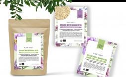 000 Stupendou Free Food Label Design Template Inspiration  Templates Download