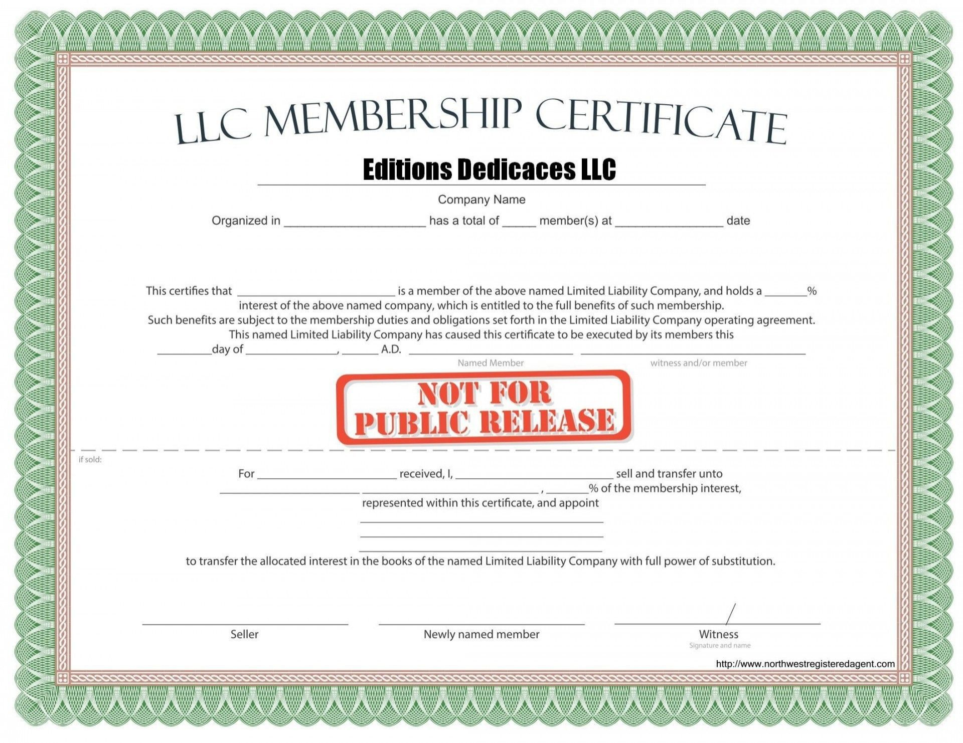 Certificate Of Membership Template from www.addictionary.org