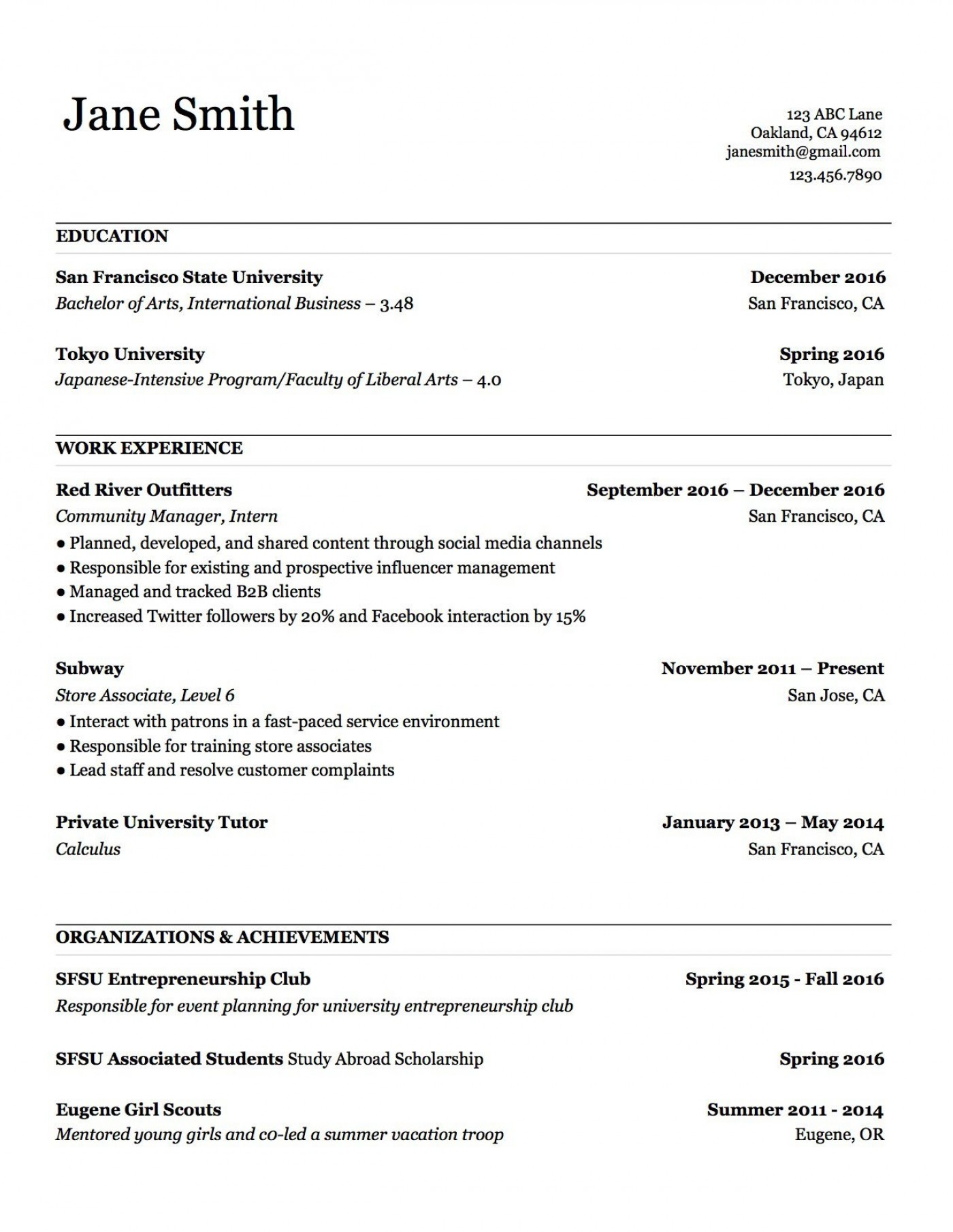 000 Stupendou Make A Resume Template Example  Create For Free How To Good1400