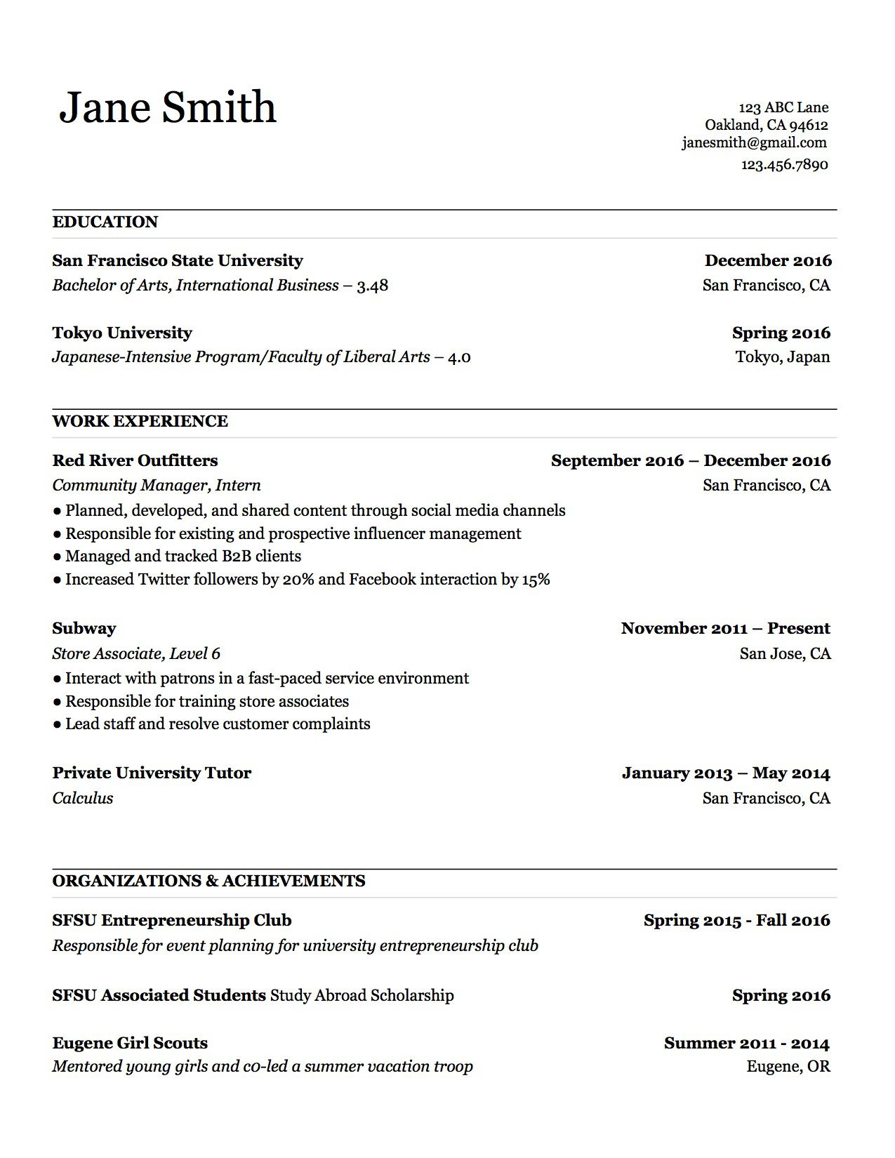000 Stupendou Make A Resume Template Example  Create For Free How To GoodFull