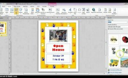 000 Stupendou Microsoft Publisher Template Free Download High Def  Flyer Award Certificate Newsletter