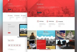 000 Stupendou One Page Website Template Psd Free Download Idea