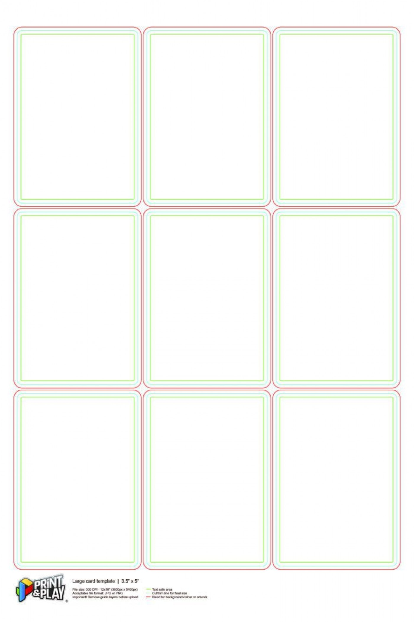 000 Stupendou Playing Card Size Template Idea  Game Standard1400