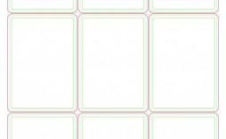 000 Stupendou Playing Card Size Template Idea  Game Standard