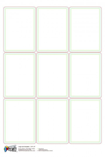000 Stupendou Playing Card Size Template Idea  Game Standard360