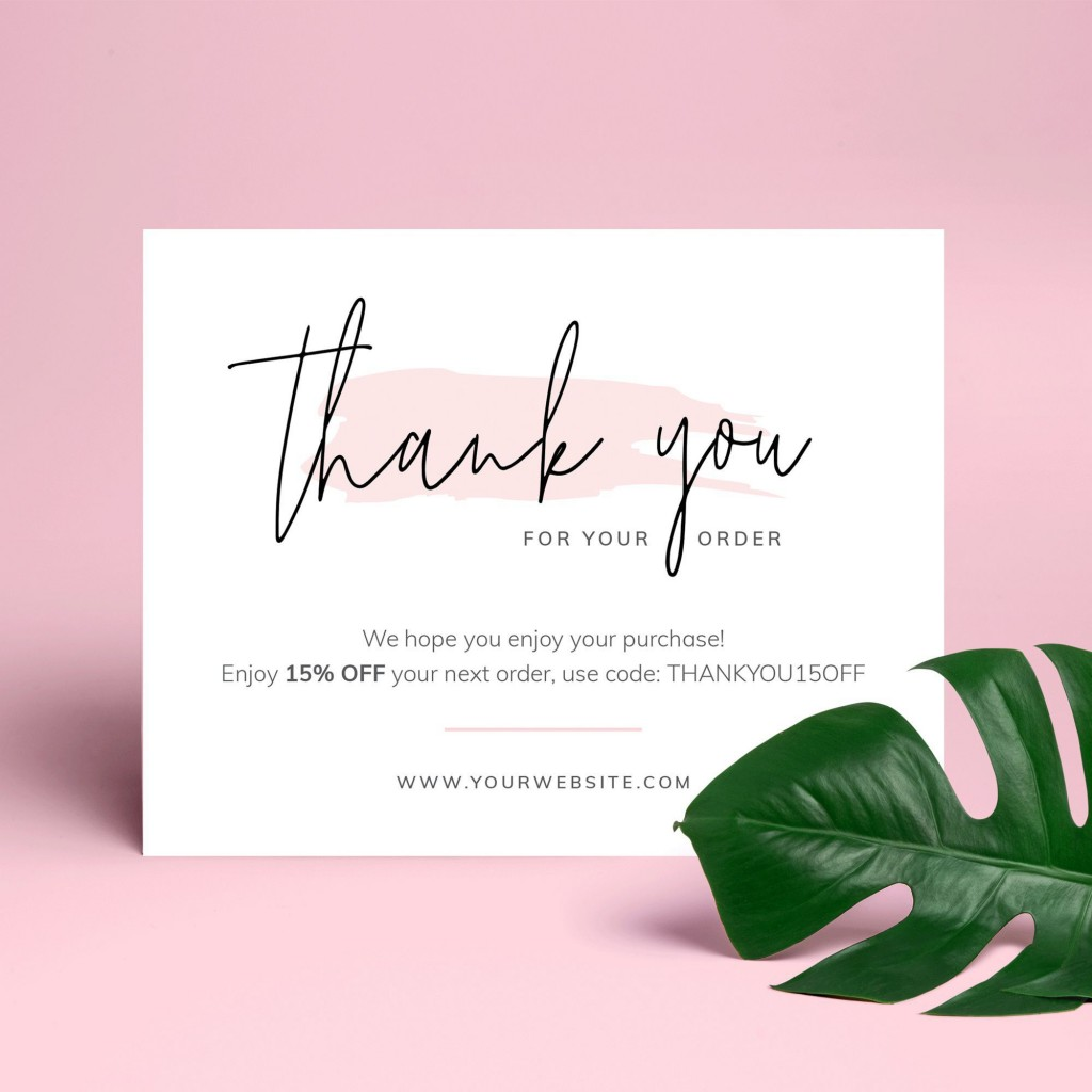 000 Stupendou Thank You Note Template Free Printable Highest Quality Large