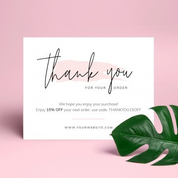 000 Stupendou Thank You Note Template Free Printable Highest Quality 360