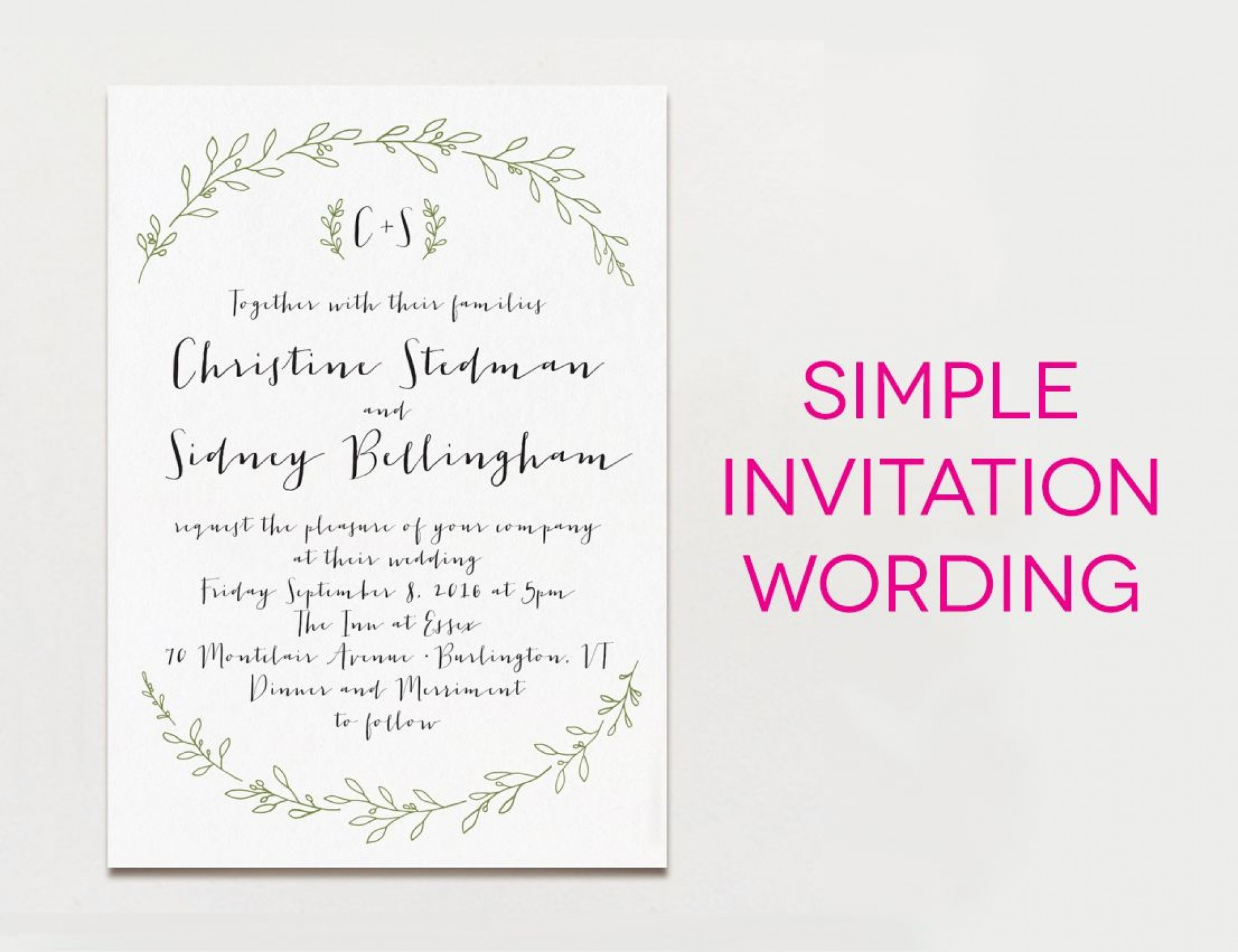 000 Stupendou Wedding Invite Wording Template Photo  Templates Chinese Invitation Microsoft Word From Bride And Groom Example Inviting1920
