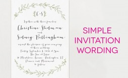 000 Stupendou Wedding Invite Wording Template Photo  Templates Chinese Invitation Microsoft Word From Bride And Groom Example Inviting