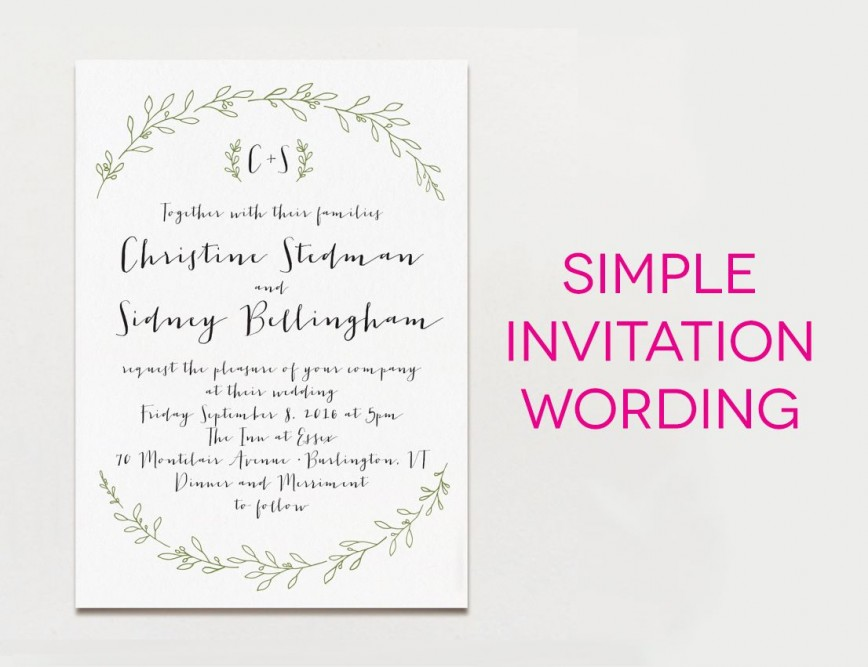 000 Stupendou Wedding Invite Wording Template Photo  Templates Invitation Indian Free Reception Sample From Bride And Groom