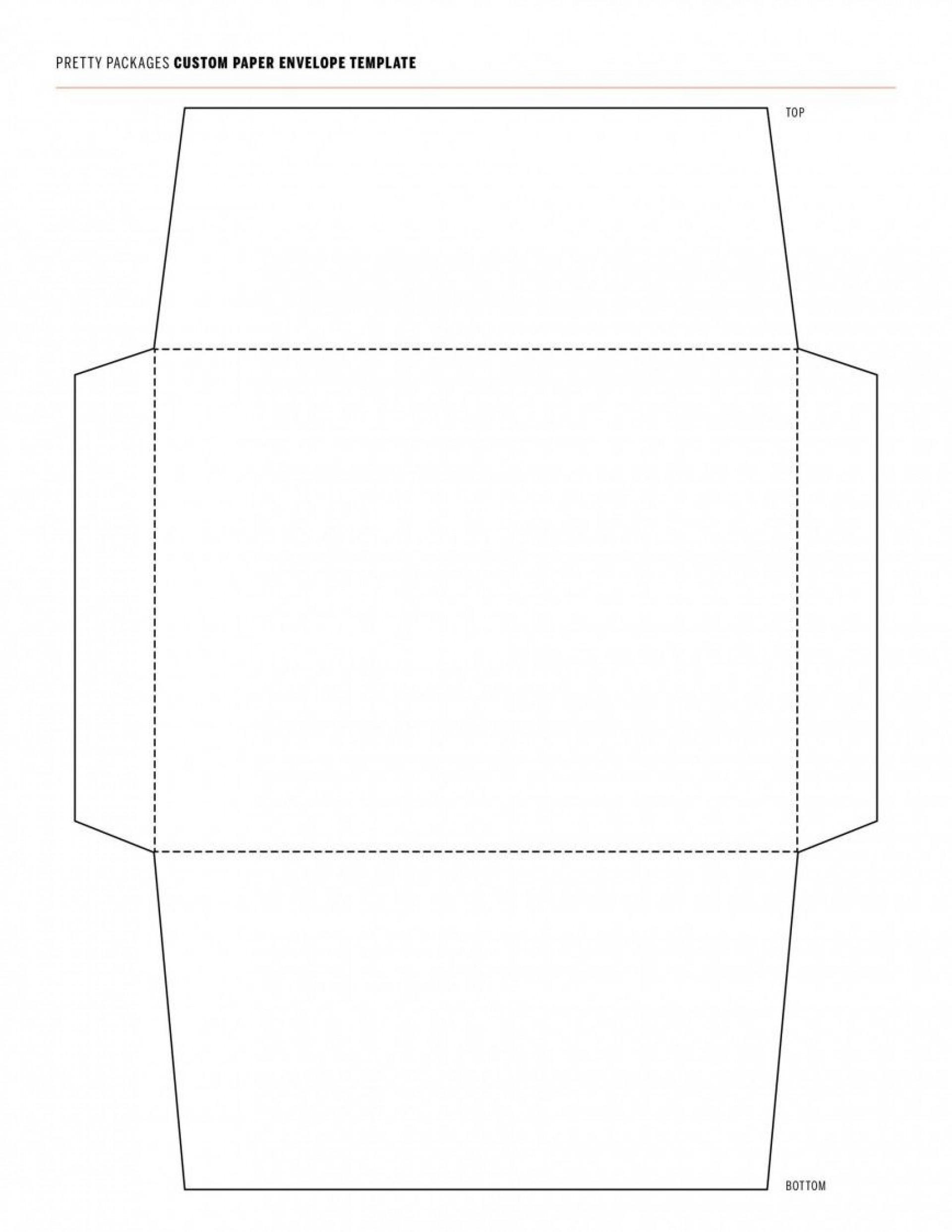 000 Surprising 10 Envelope Template Word Concept  Size Microsoft #10 Double Window1920