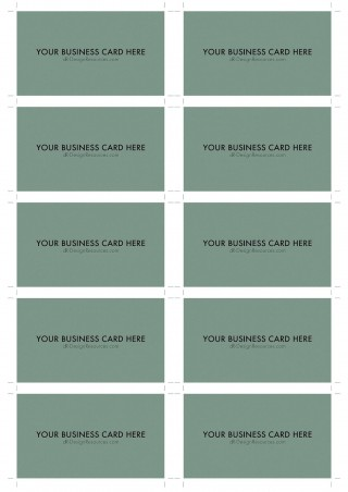 000 Surprising Blank Busines Card Template Photoshop Inspiration  Free Download Psd320