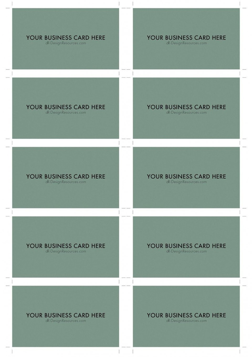 000 Surprising Blank Busines Card Template Photoshop Inspiration  Free Download Psd960