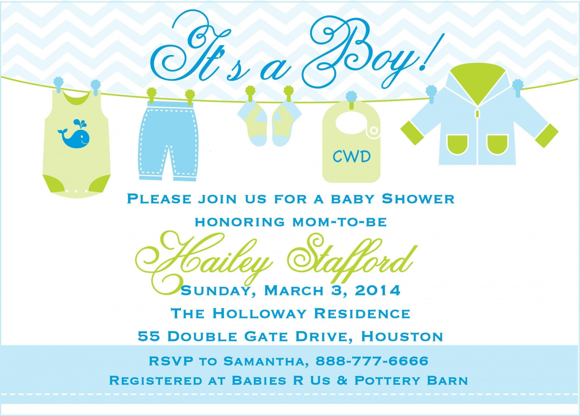 000 Surprising Free Baby Shower Invitation Template For Boy Highest Quality 1920