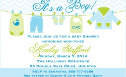 000 Surprising Free Baby Shower Invitation Template For Boy Highest Quality