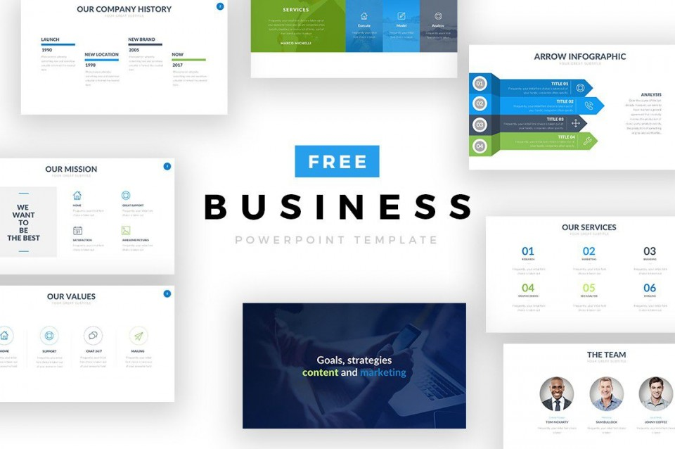 000 Surprising Free Download Ppt Template For Busines Highest Clarity  Presentation Plan960