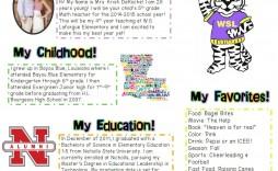 000 Surprising Newsletter Template For Teacher Highest Clarity  Teachers To Parent Free Printable Digital