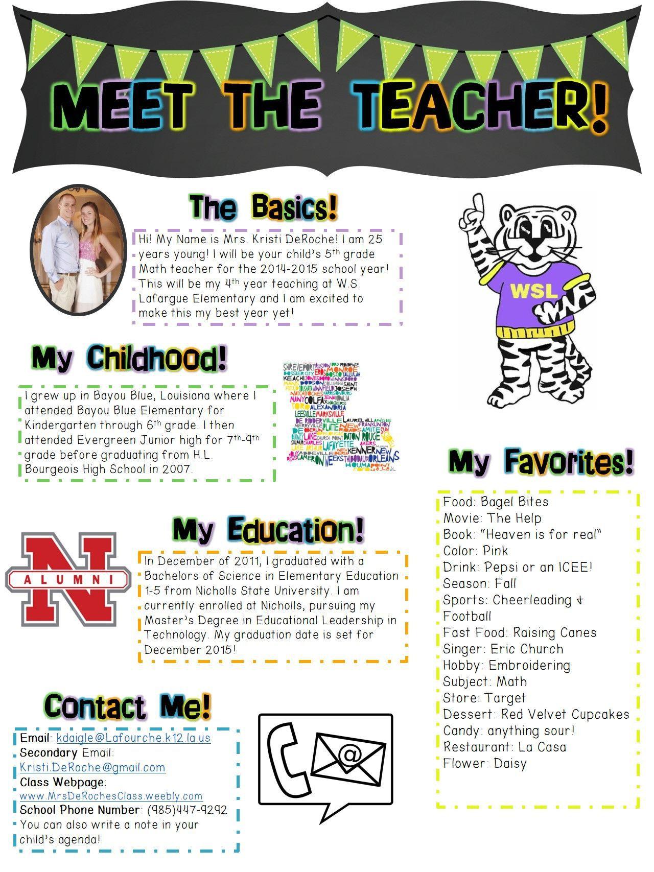 000 Surprising Newsletter Template For Teacher Highest Clarity  Teachers To Parent Free Printable DigitalFull