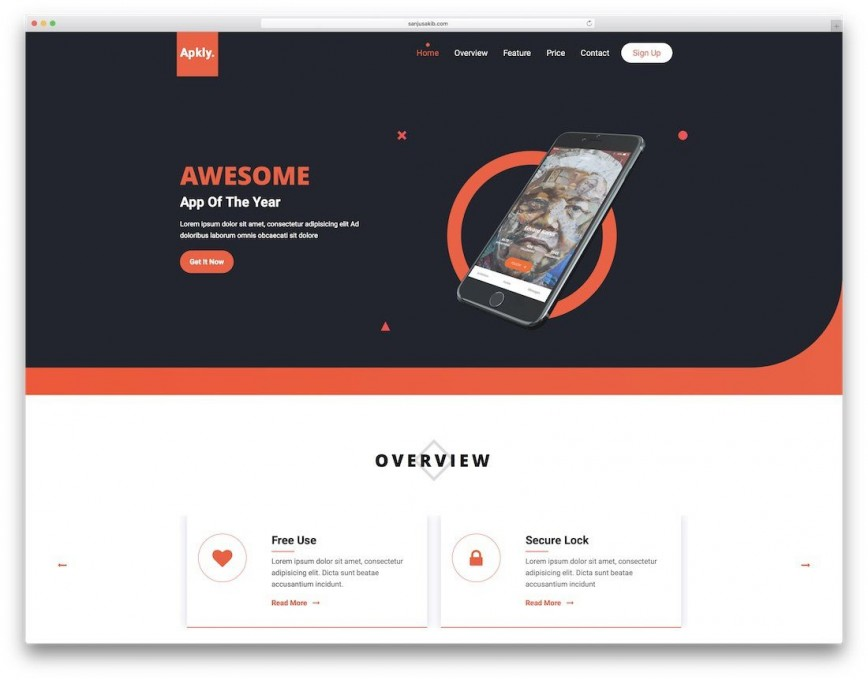 000 Surprising Simple Landing Page Template High Resolution  Free Download