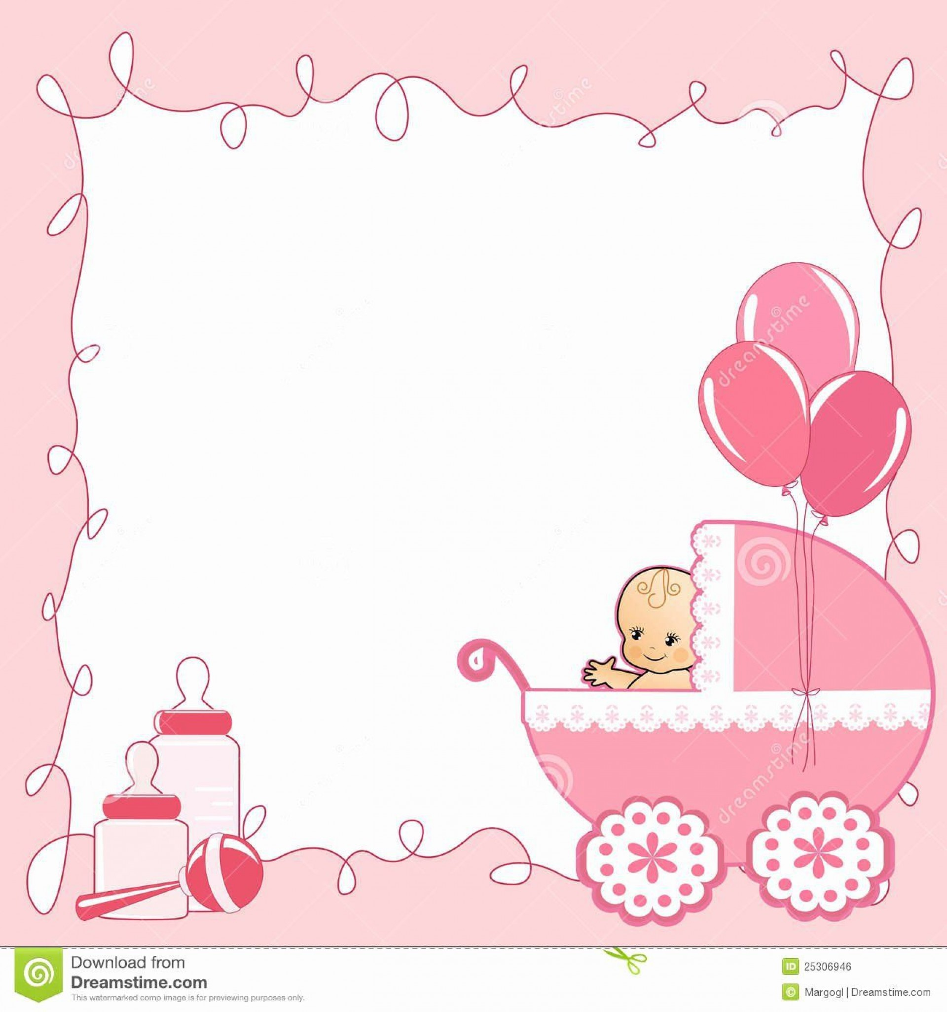 000 Top Baby Shower Card Template Inspiration  Microsoft Word Invitation Design Online Printable Free1920