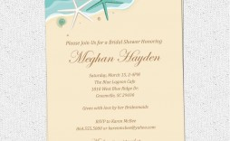 000 Top Beach Wedding Invitation Template Picture  Templates Free Download For Word