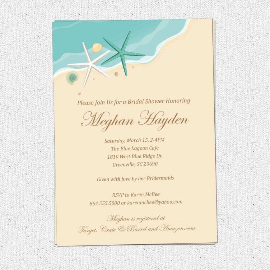 000 Top Beach Wedding Invitation Template Picture  Templates Free Download Themed For Word
