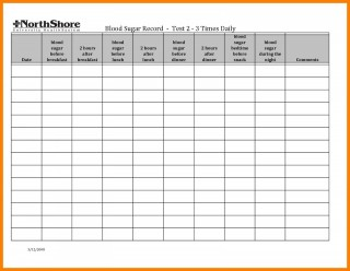 000 Top Blood Sugar Log Form Picture  Simple Glucose Sheet Excel Monthly320