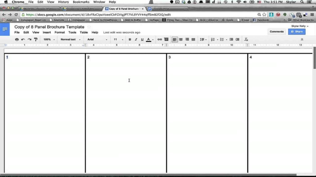 000 Top Brochure Template Google Doc Inspiration  Blank Tri Fold SlideLarge