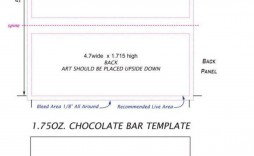 000 Top Chocolate Bar Wrapper Template Free Example  Candy For Valentine' Day Valentine Birthday