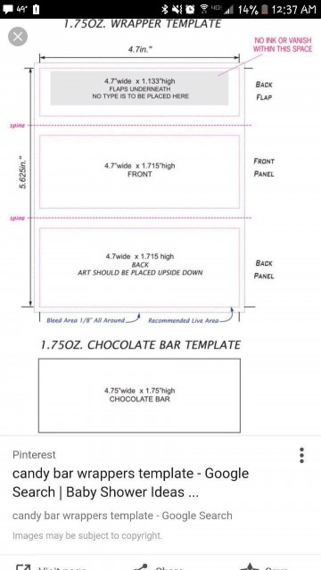 000 Top Chocolate Bar Wrapper Template Free Example  Printable Hershey Candy Valentine360
