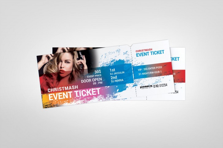 000 Top Concert Ticket Template Google Doc Example 728
