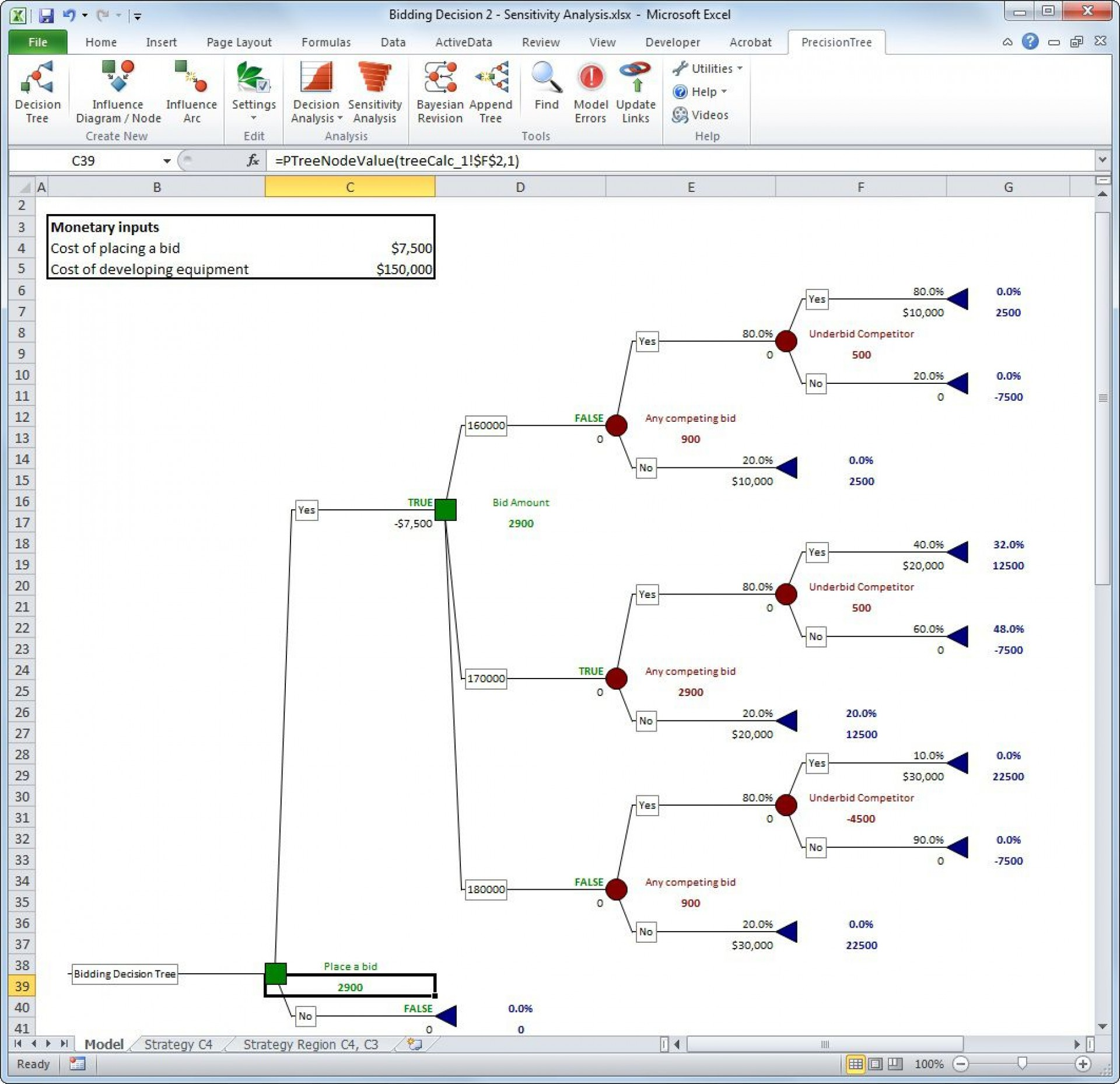 000 Top Decision Tree Template Excel 2016 Sample 1920