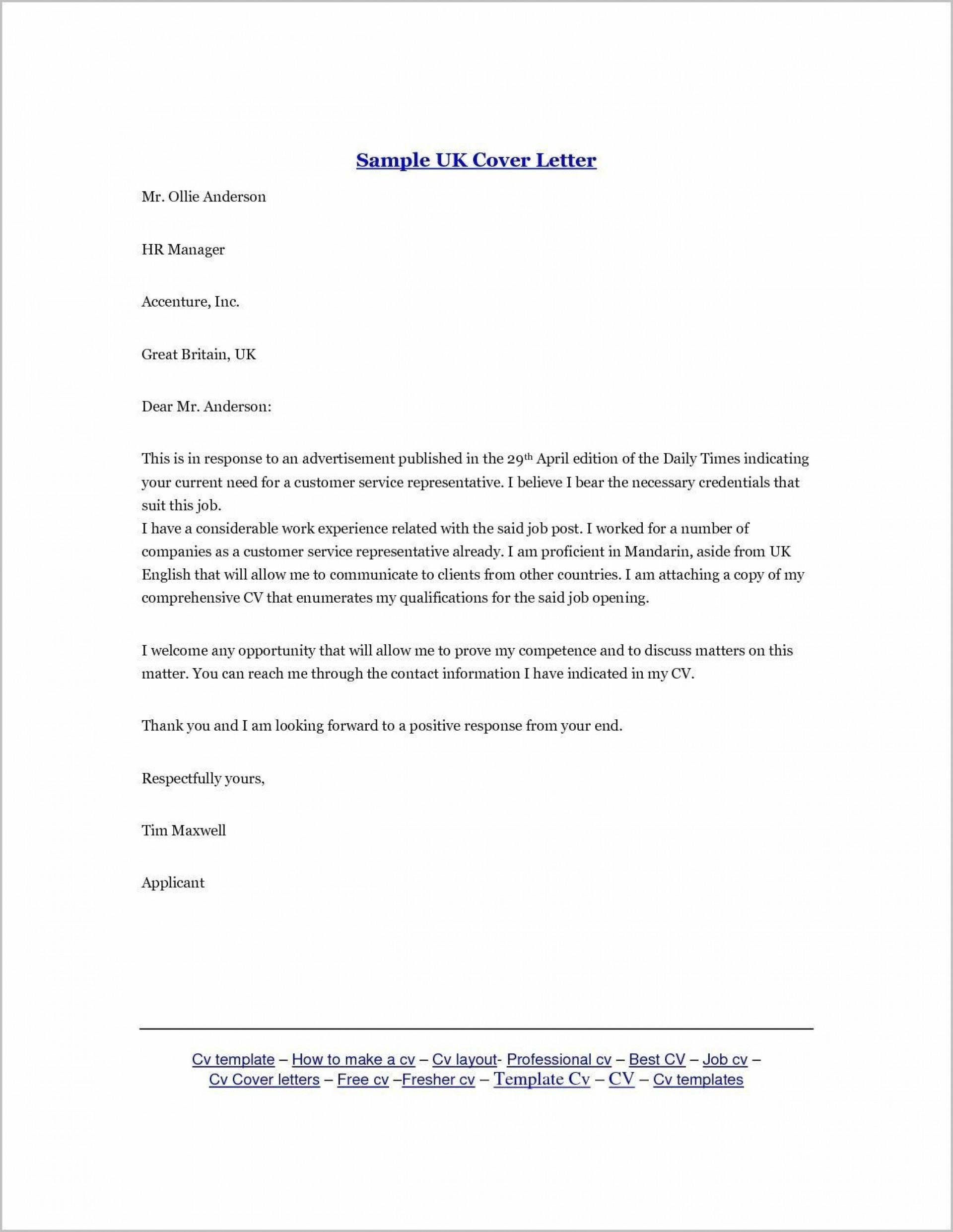 000 Top Email Cover Letter Example For Resume Sample  Through Attached1920