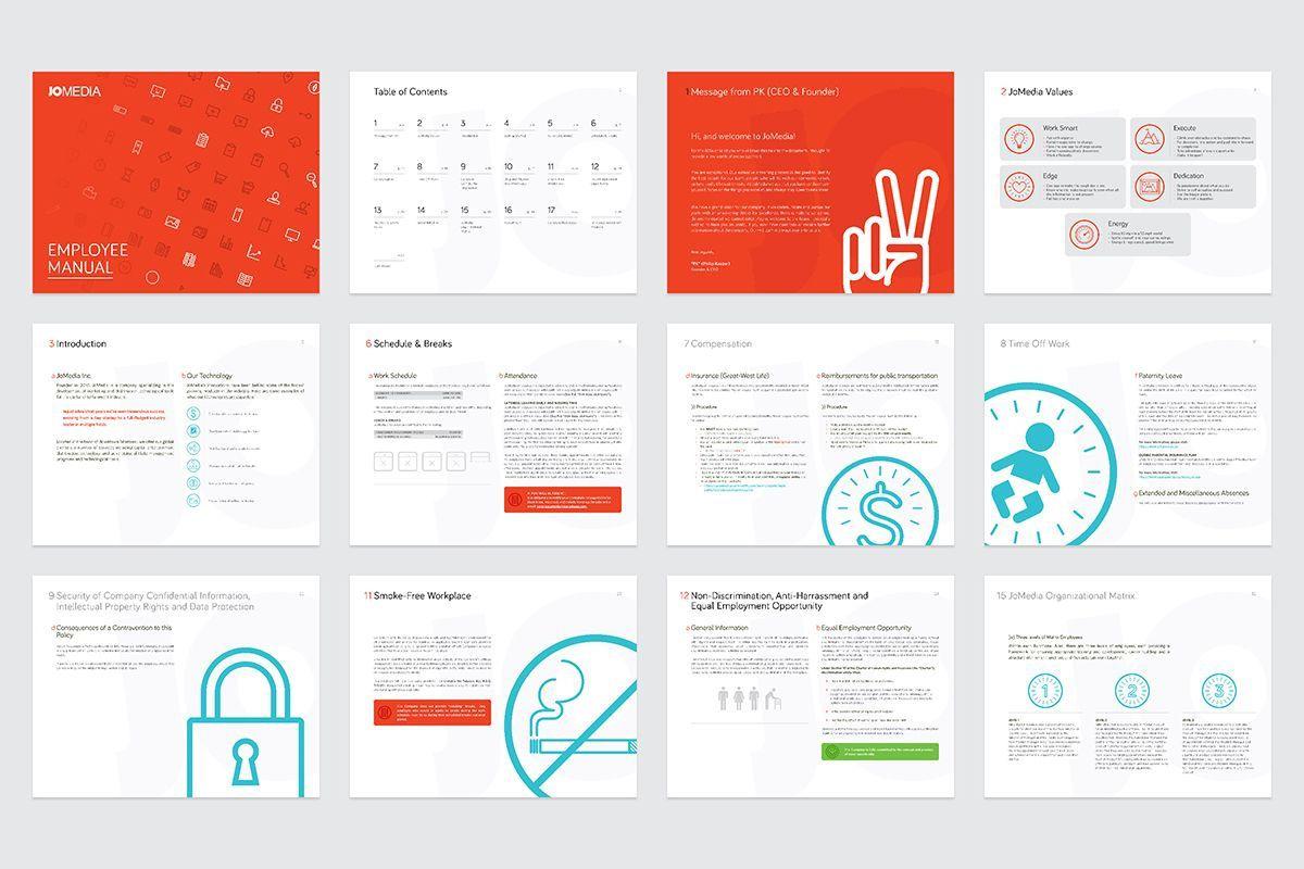 000 Top Free Employment Handbook Template Idea Full