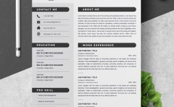 000 Top Free Microsoft Word Resume Template Image  Templates Modern For Download