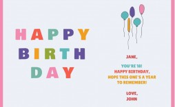 000 Top Free Printable Birthday Card Template For Mac High Definition