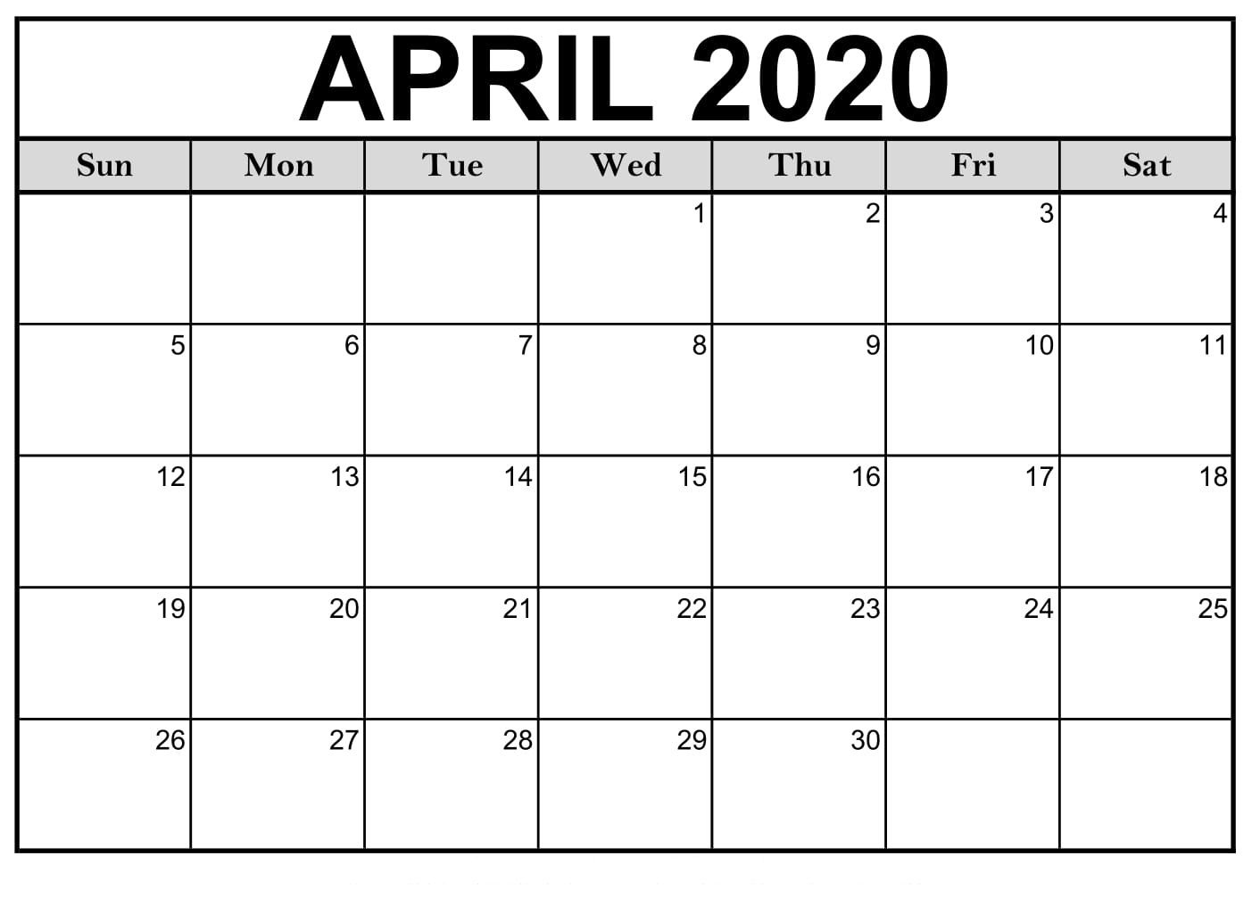 000 Top Monthly Calendar Template 2020 Design  Editable Free Word Excel MayFull