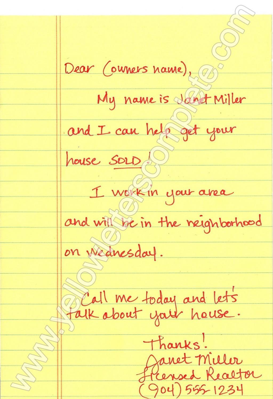 000 Top Real Estate Marketing Letter Template Image  TemplatesLarge