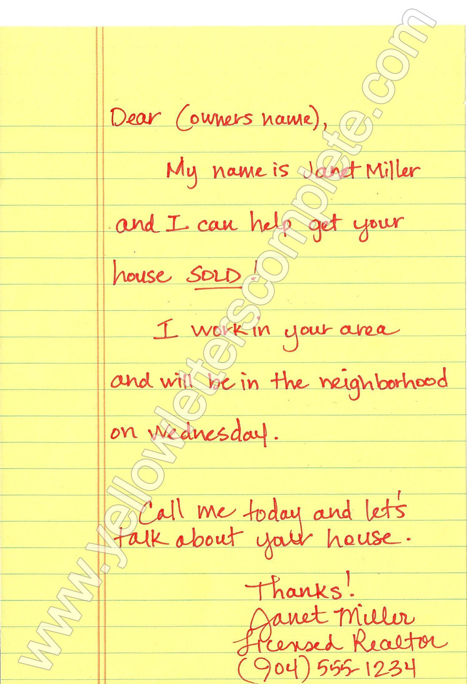 000 Top Real Estate Marketing Letter Template Image  TemplatesFull