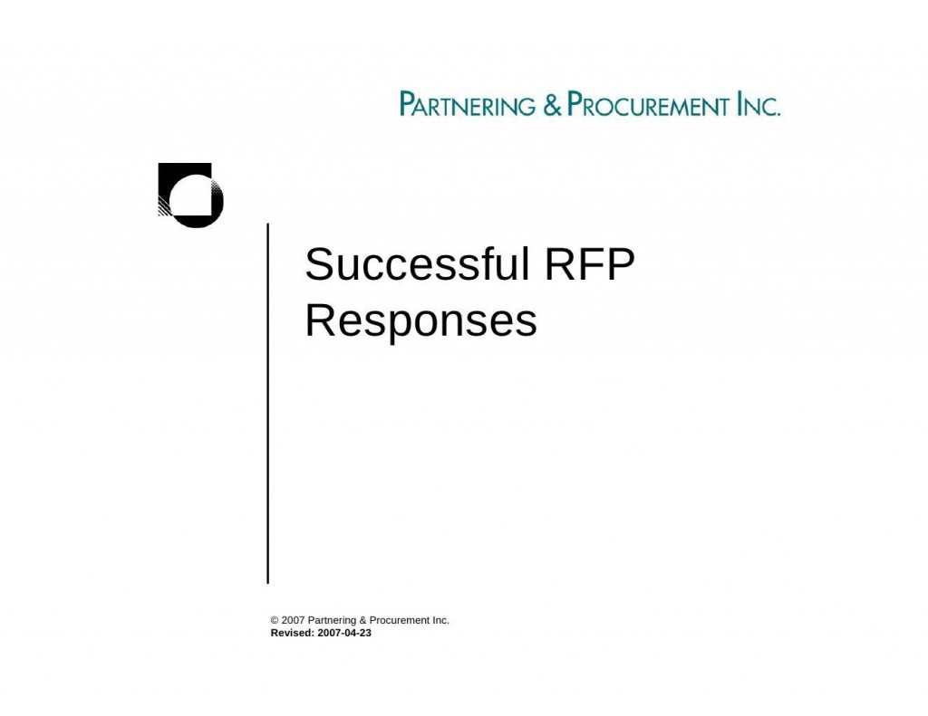 000 Top Request For Proposal Response Template Free Concept Large