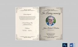 000 Top Template For Funeral Program On Word Photo  2010 Free Sample Wording