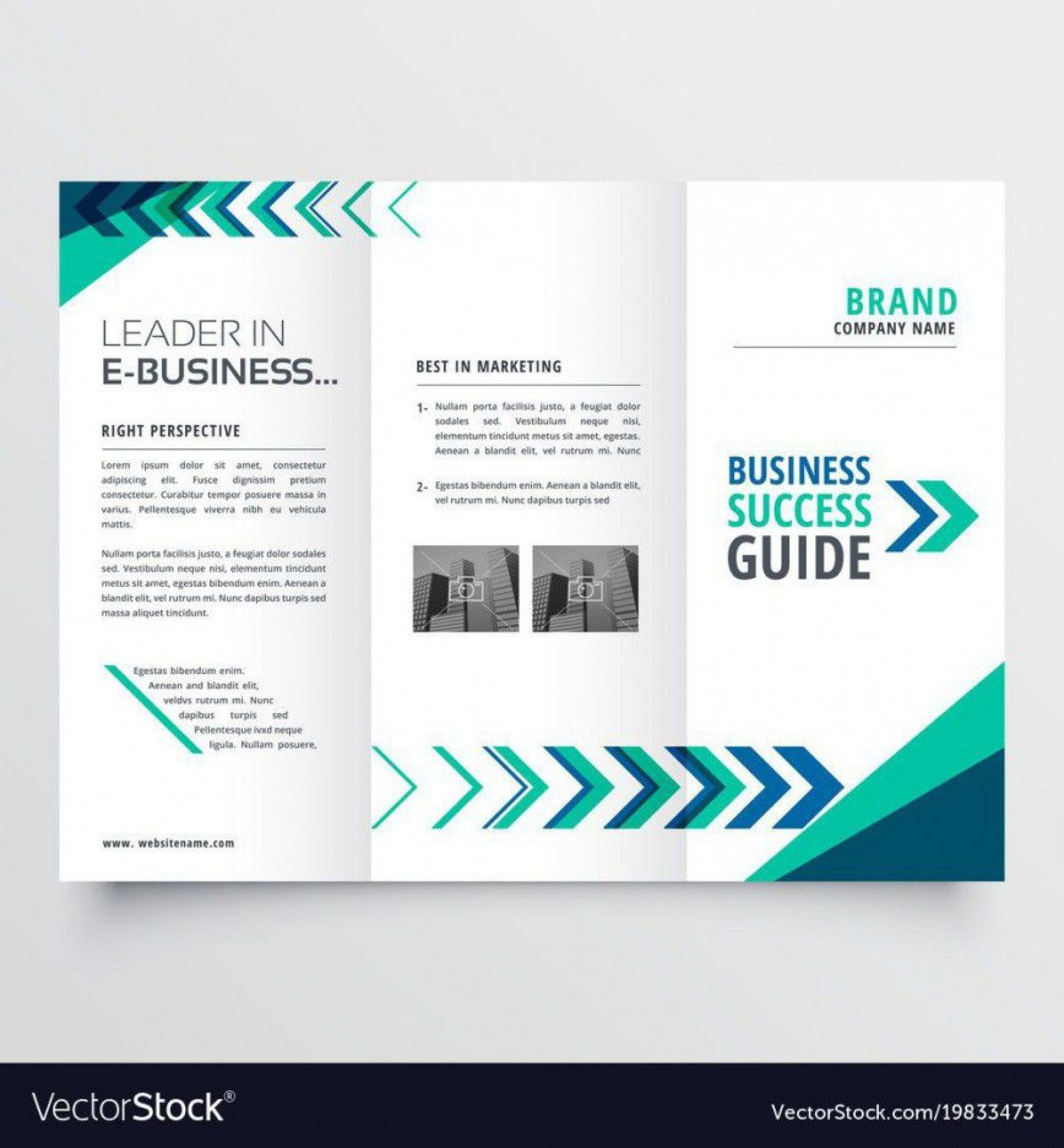 000 Top Three Fold Brochure Template Word Free Image  3 Download1920