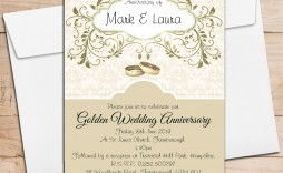 000 Unbelievable 50th Wedding Anniversary Invitation Design Highest Quality  Designs Wording Sample Card Template Free Download