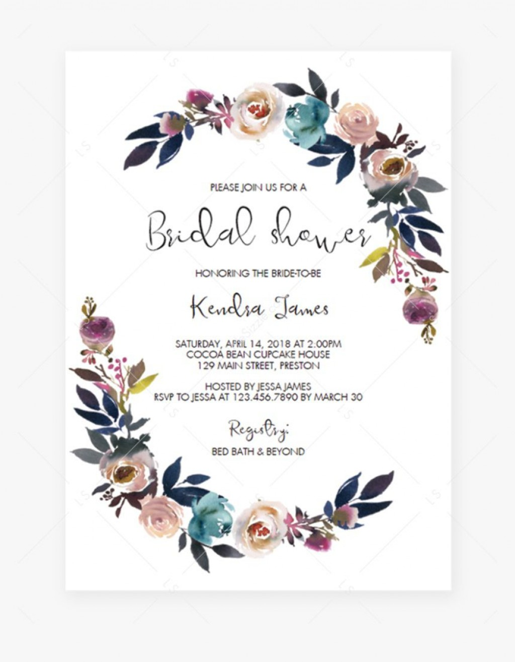 000 Unbelievable Baby Shower Invitation Free Template Image  Templates Online Printable E-invitation Card Design DownloadLarge