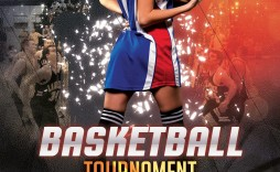 000 Unbelievable Basketball Tournament Flyer Template Sample  Word Free